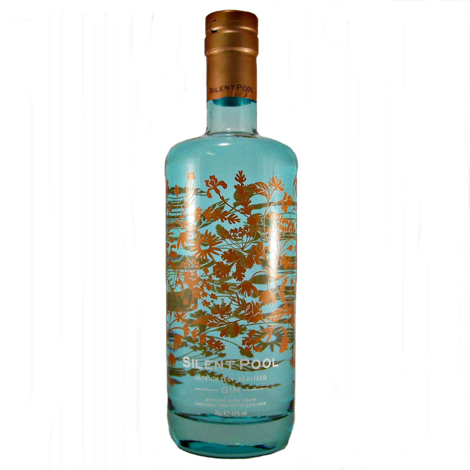 Silent pool gin english distillery small batch - Silent pool gin ...