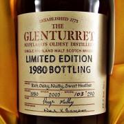 Glenturret Single Malt Whisky 1980