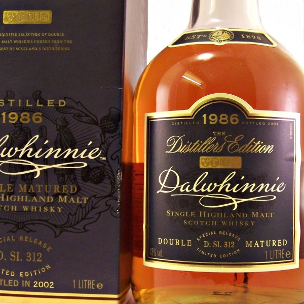 Dalwhinnie 1986 Distillers Edition 2002