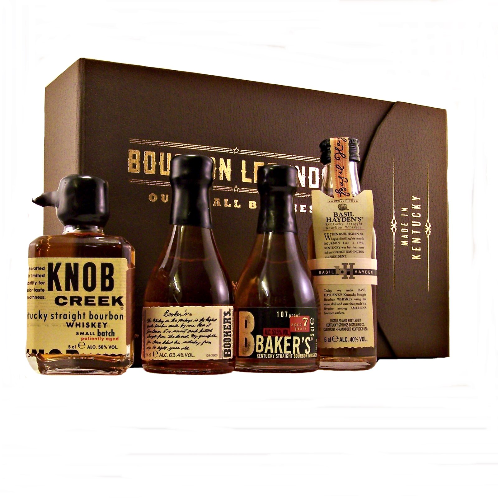 bourbon legends gift set jim beam small batch. Black Bedroom Furniture Sets. Home Design Ideas