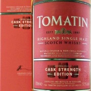 Tomatin Cask Strength Edition whisky