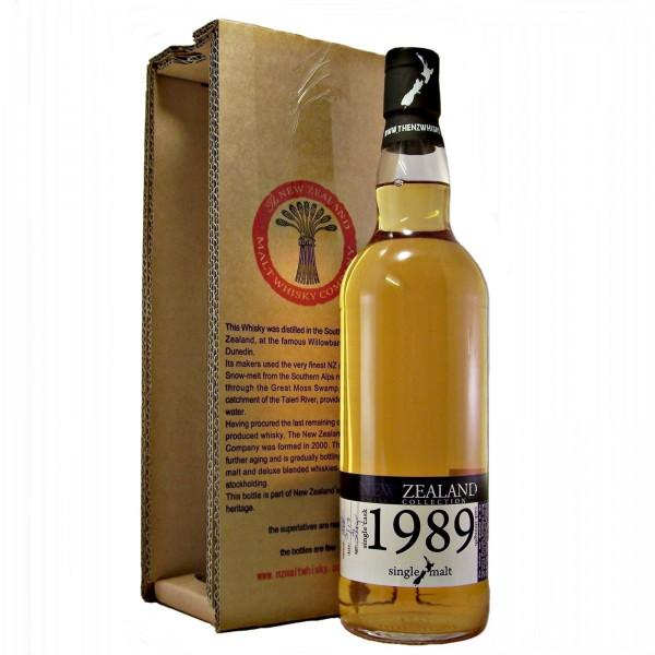 New Zealand 1989 Single Malt Whisky