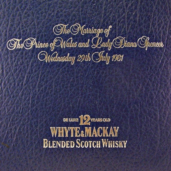 Whyte & MacKay Charles and Diana Royal Wedding Whisky