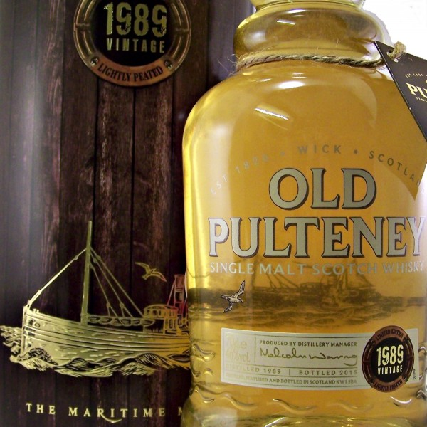 Old Pulteney 1989 Vintage 26 year old