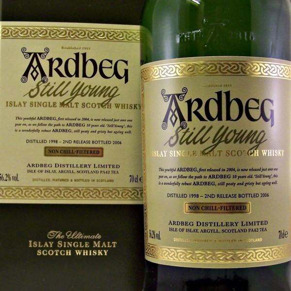 Ardbeg Still Young Islay Whisky