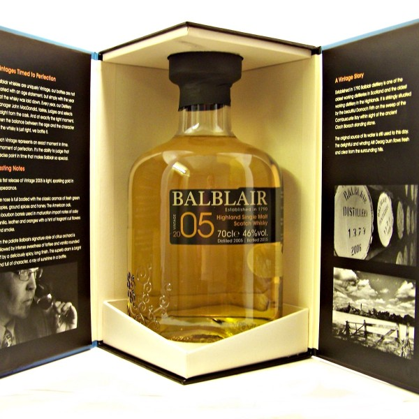 Balblair 2005 Vintage Single Malt Whisky