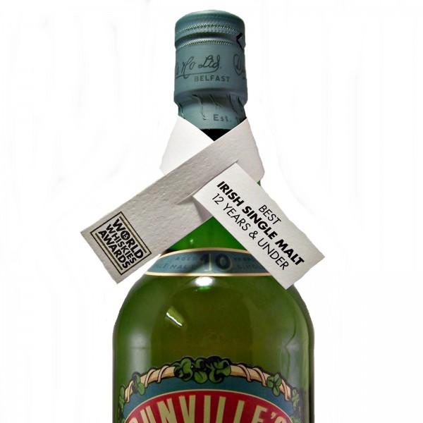 Dunvilles Very Rare Irish Whiskey award