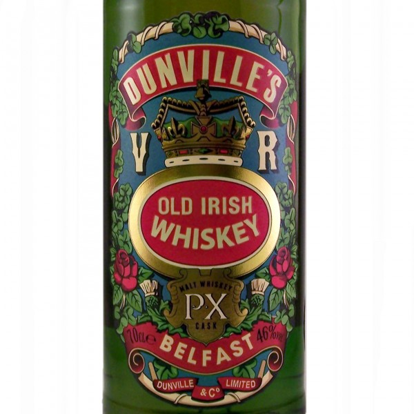 Dunvilles Very Rare Irish Whiskey PX Cask