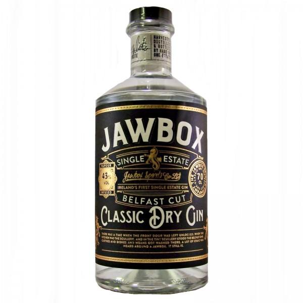 Jawbox Belfast Cut Classic Dry Gin
