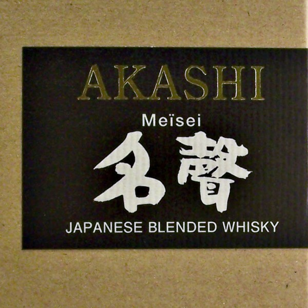 Akashi Meisei Japanese Blended Whisky white oak