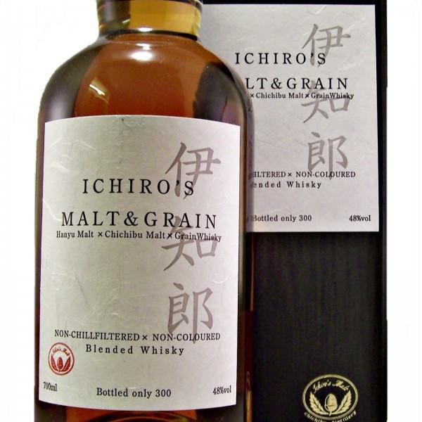 Ichiro's Hanyu Chichibu Malt & Grain Japanese Whisky