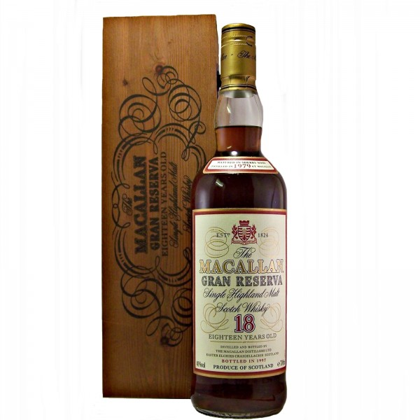 Macallan Gran Reserva 18 year old 1979 Vintage