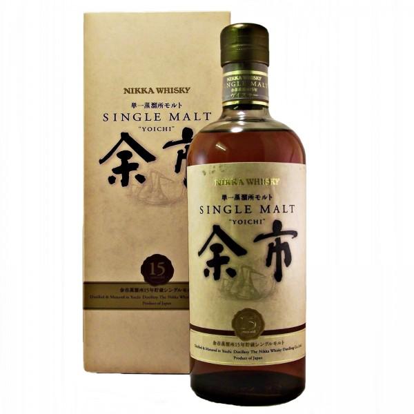 Yoichi 15 year old Japanese Whisky
