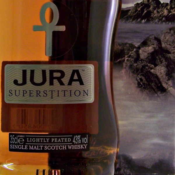 Jura Superstition Whisky half bottle