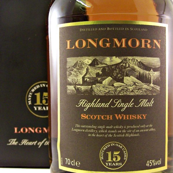Longmorn 15 year old Scotch Single Malt Whisky