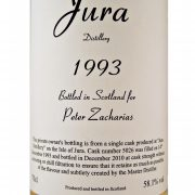 Jura 1993 Peter Zacharias Single Malt Whisky