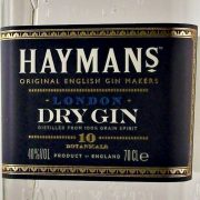 Haymans London Dry Gin Grain spirit