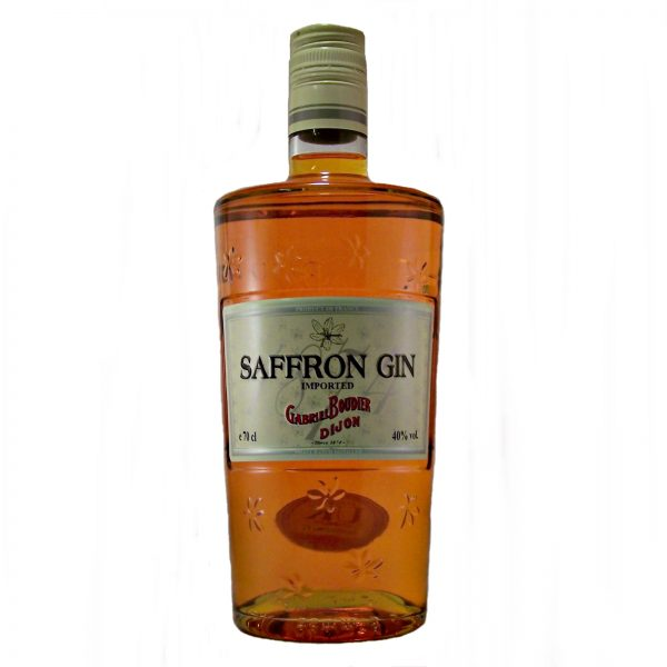 saffron gin 38 99 imported saffron gin dijon france 40 % abv 70cl 3 in ...