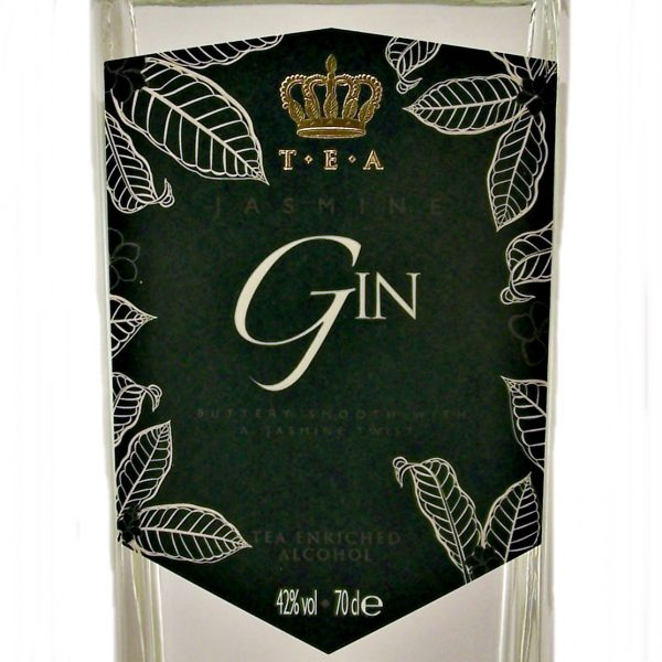 T.E.A Jasmine Gin Tea enriched alcohol