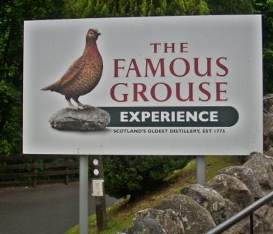 GlenTurret Whisky Distillery Famous Grouse