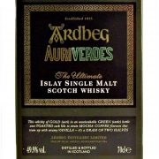 Ardbeg Auriverdes Single Malt Whisky