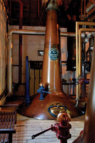 Bruichladdich Whisky Distillery Stills