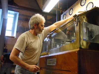 Bruichladdich Whisky Distillery Spirit safe
