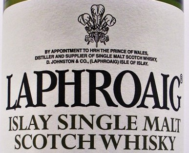 Laphroaig Whisky Distillery Logo