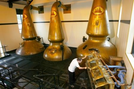 Auchentoshan Whisky Distillery Stills