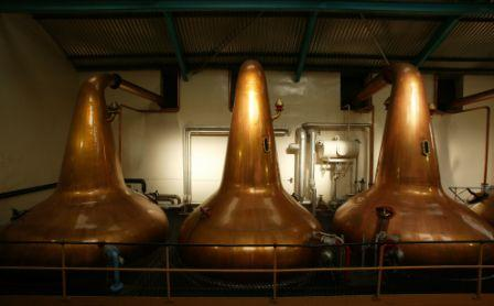 Aberlour Whisky Distillery Stills