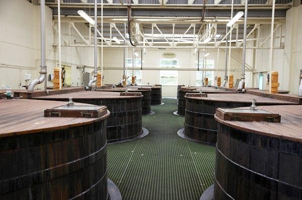 Glen Grant Whisky Distillery Washbacks