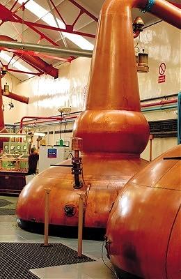 Glenfarclas Whisky Distillery Stills