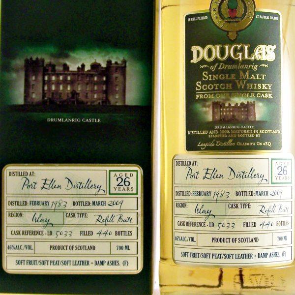 Port Ellen 26 year old Single Malt Whisky 1983 vintage