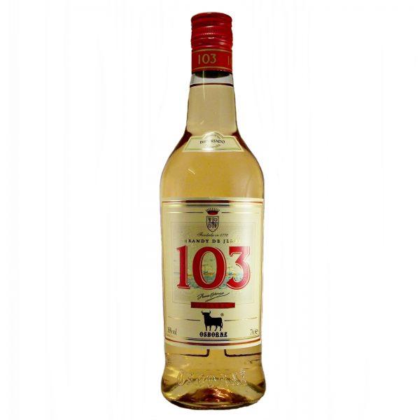 Osborne 103 Spanish Brandy