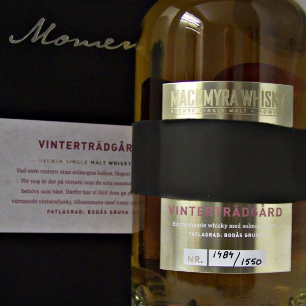 Mackmyra Vintertradgard Swedish Single Malt Whisky