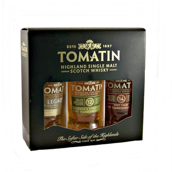 Tomatin Miniature Whisky Gift Set