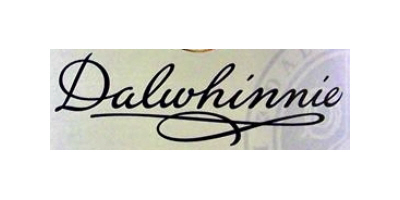 Dalwhinnie whisky distillery label