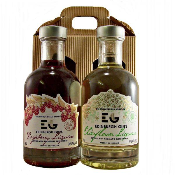 Edinburgh Gin's Liqueur Gift Set Raspberry & Elderflower