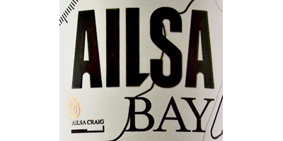 Ailsa Bay Lowland Malt Whisky Label