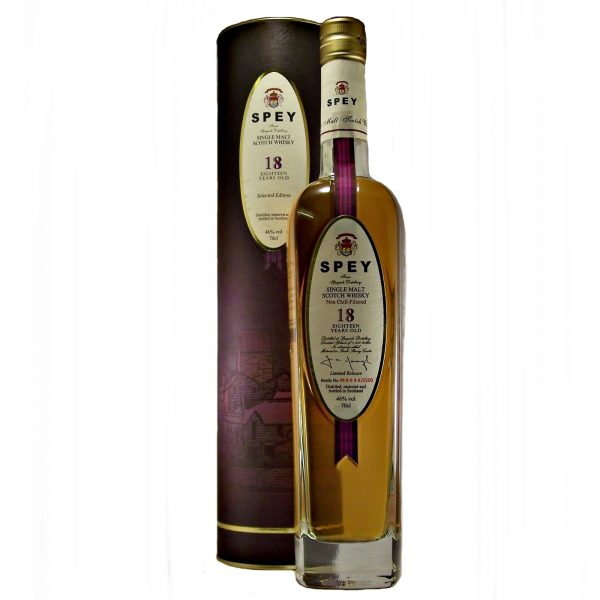 Spey 18 year old Single Malt Whisky