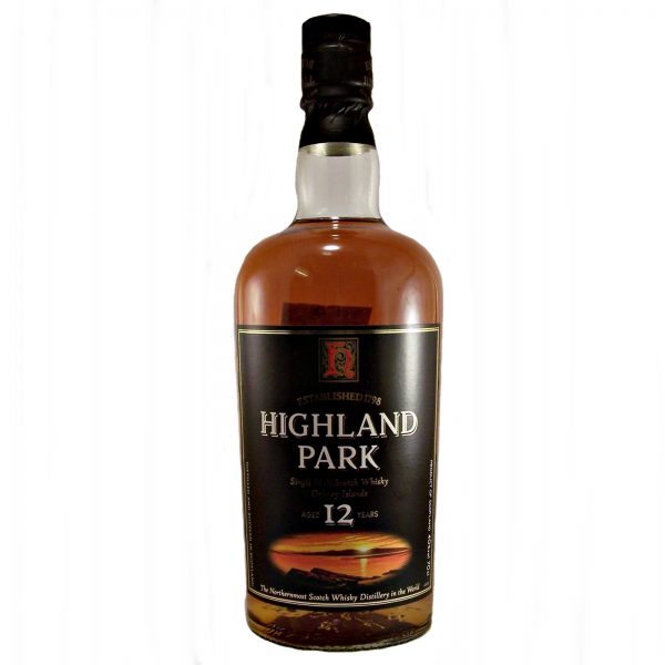 Highland Park 12 year old Round Bottle