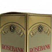 Rosebank 8 year old Single Malt Whisky crease
