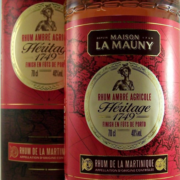 La Mauny Heritage 1749 Rum Rhum Agricole