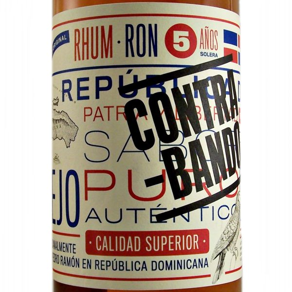 Contrabando 5 year old Rum Dominican Republic