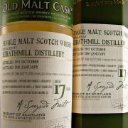 Strathmill Single Malt Whisky 17 year old