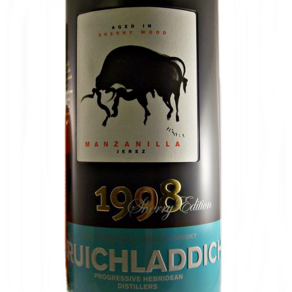 Bruichladdich 1998 Manzanilla Sherry Edition Single Malt Whisky