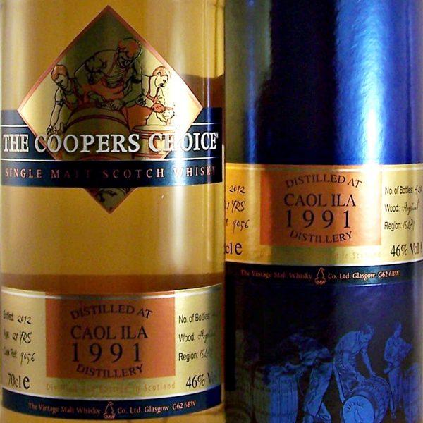 Caol Ila 21 year old Single Malt Whisky 1991