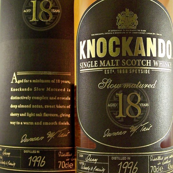 Knockando 18 year old Single Malt Whisky