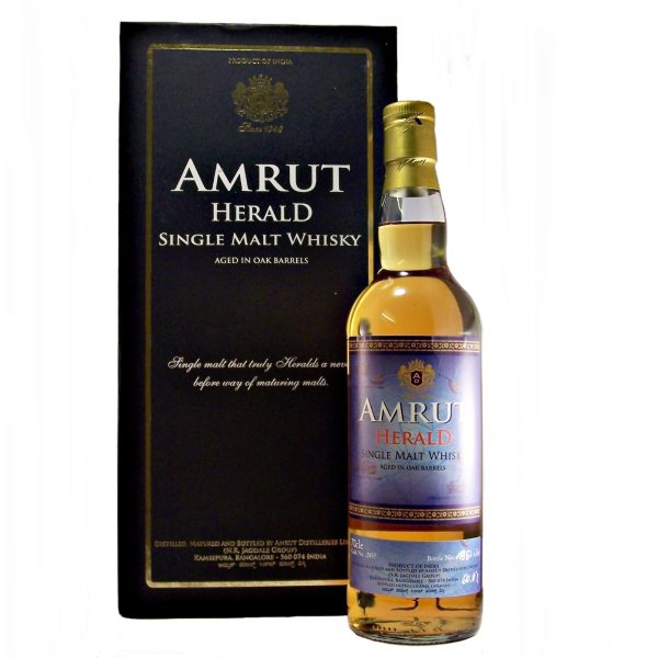 Amrut Herald Indian Single Malt Whisky