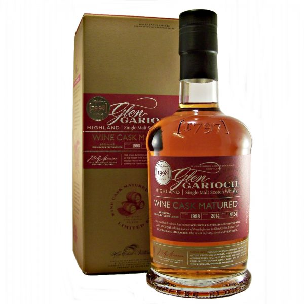 Glen Garioch Wine Cask Matured